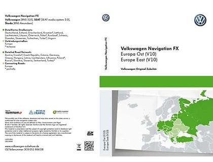 SD-Karte für Radio-Navigationssystem FX Europa Ost (V10), RNS 310