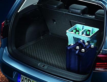 Gepäckraumeinlage variabler Ladeboden, obere Position