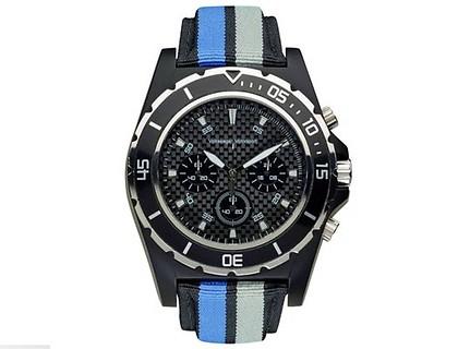 Armband-Uhr Unisex, Schwarz, Motorsport Kollektion